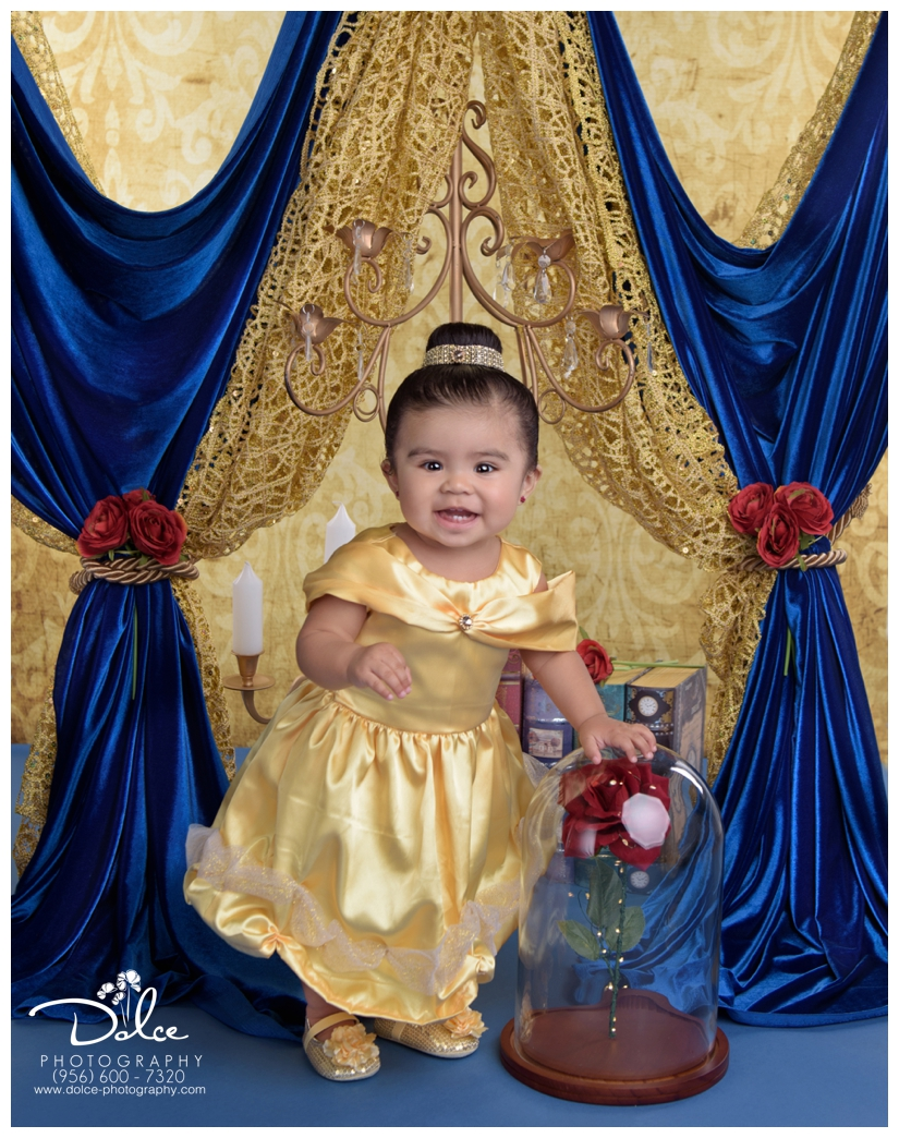 Tamara Gonzalez 1 Year Beauty And The Beast Cake Smash Palmview