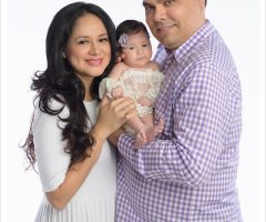 Sandra Martinez One Month Old Baby Portraits – Palmview, Texas Baby Photographer